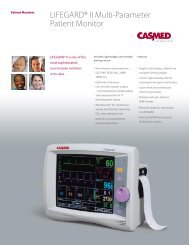 LIFEGARD® II Multi-Parameter Patient Monitor