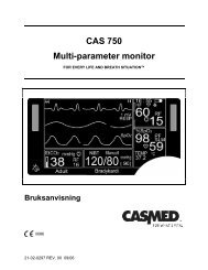 CAS 750 Multi-parameter monitor
