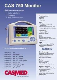 CAS 750 Monitor