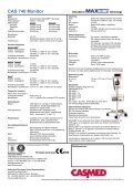 CAS 740 Monitor - Page 2