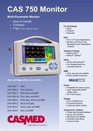 CAS 750 Monitor - Diagnos