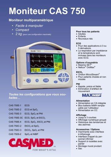 Moniteur CAS 750