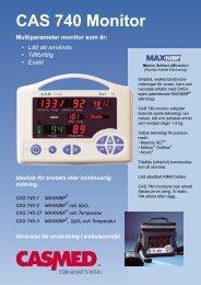 CAS 740 Monitor