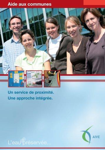 (Präsentation der Unterstützung für Gemeinden) (PDF) - Idelux