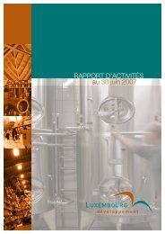 Rapport d'activités 2006 Luxembourg Développement (PDF) - Idelux