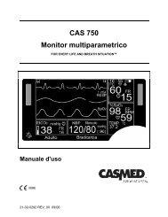 CAS 750 Monitor multiparametrico