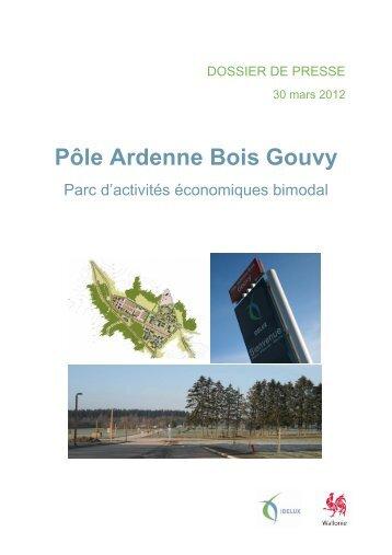 Dossier de presse PAB Gouvy - Idelux