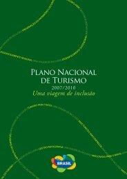 plano nacional de turismo brasil - Ministério do Turismo