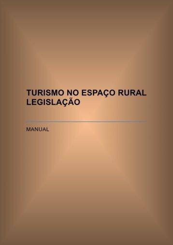 Legislação Turismo no esapço Rural Portugal - IDESTUR - Instituto ...