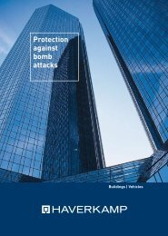 Protection against bomb attacks