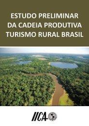 estudo preliminar da cadeia produtiva turismo rural brasil