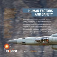 HUMAN FACTORS AND SAFETY