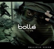 Bolle X810 FAX810 PSF Replacement Ballistic Dark Smoked Lense