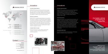 Complete vehicle engineering & assembly
