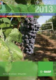 Weinbau 2013 - BASF