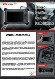 Rugged Practical Compact Customizable