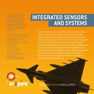 INTEGRATED SENSORS AND SYSTEMS