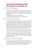 Satzung - Bonifatiuswerk - Page 4