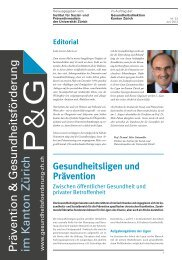 download PDF - Institut für Sozial- und Präventivmedizin der ...