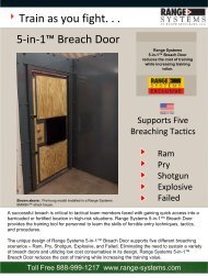 Train as you fight. . . 5-in-1™ Breach Door