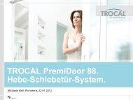 TROCAL PremiDoor 88 - Bau Docu Österreich