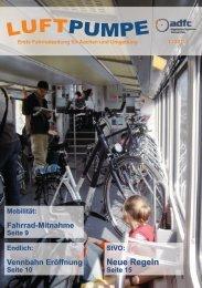 Ausgabe 1/2013 - beim ADFC