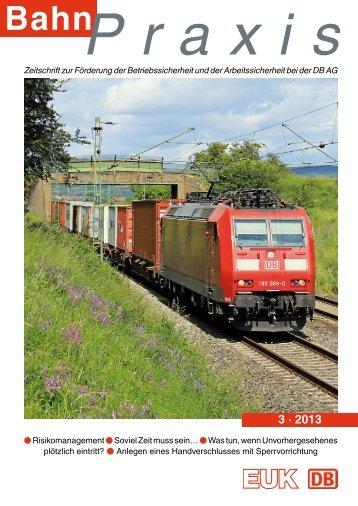 3 · 2013 - Eisenbahn-Unfallkasse