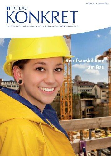 Oktober 2013 - Fachgemeinschaft Bau Berlin und Brandenburg eV