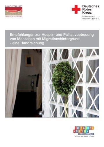 eine Handreichung - Johannes-Hospiz Münster