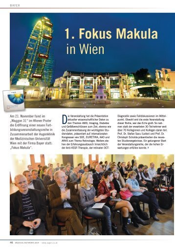 1. Fokus Makula in Wien - Medical Network