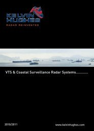 VTS & Coastal Surveillance Radar Systems............