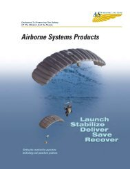 Airborne Systems Products