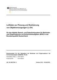 Leitfaden zur Planung und Realisierung von Objektversorgungen (L ...