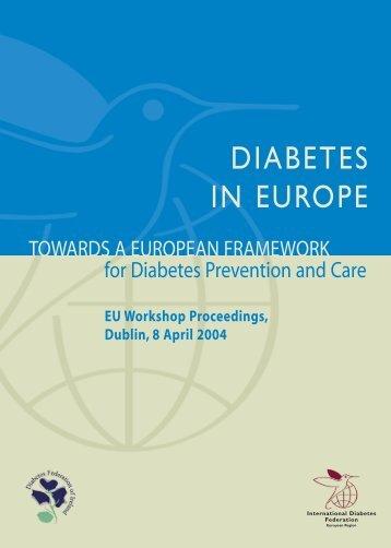DIABETES IN EUROPE - International Diabetes Federation