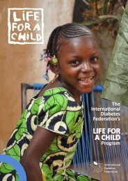 LIFE FOR A CHILD - International Diabetes Federation