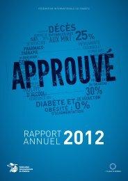 rapport annuel - International Diabetes Federation
