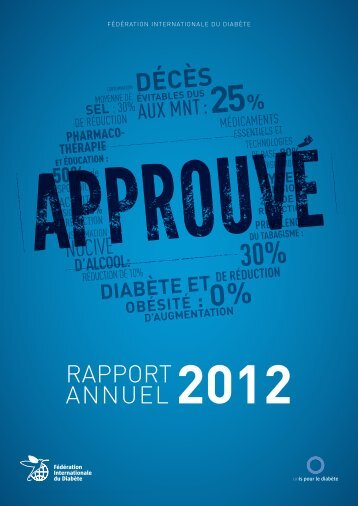rapport annuel - International Diabetes Federation