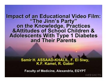 "Impact of an Educational Video Film: ""The Jinn's Party"" on the ..."