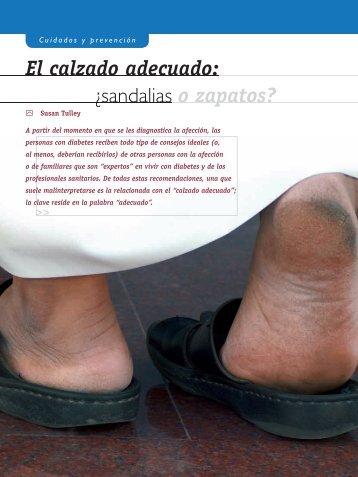 El calzado adecuado: Â¿sandalias o zapatos?