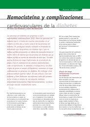 Homocisteína y complicaciones cardiovasculares de la diabetes