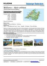 Mallorca – Aktiv erleben