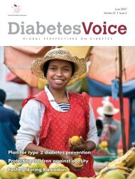 Plan for type 2 diabetes prevention Protecting children against ...