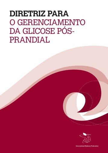 diretriz para o gerenciamento da glicose pós- prandial