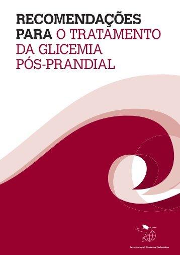 Recomendações para o tratamento da glicemia pós-prandial