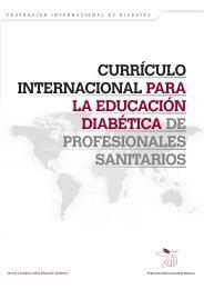 ccurrículo cinternacional para la educación diabética - International ...