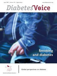 Smoking and diabetes - International Diabetes Federation
