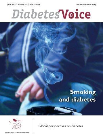 Smoking and diabetes - International Diabetes Federation