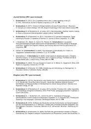Journal Articles (PR = peer-reviewed) Chapters (also PR ... - IDF