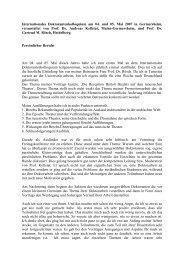 Persönlicher Bericht von Belhassen Fartouna, Tunis - IDF