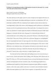 Carroll Lambert 09.28.05 1 Problems in reorganizing principles ... - IDF